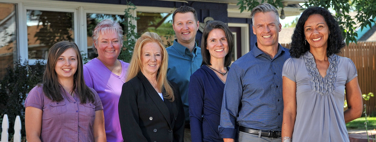 The staff at Chiropractic Centers of Erie and Longmont