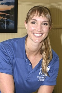 Dr. Sharon's New Headshot at Chiropractic Center of Longmont
