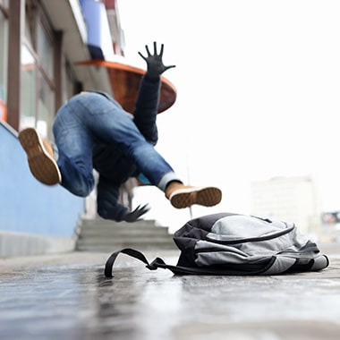 Chiropractic Care For Slips Trips and Falls