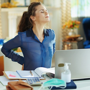 How To Prevent Back Pain While Working From Home